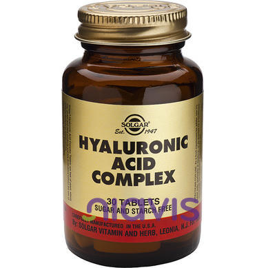 Solgar Hyaluronic Acid Complex 120mg 30tablete