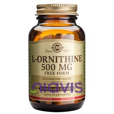 Solgar L-ORNITHINE 500mg 50cps