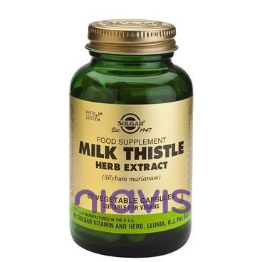 Solgar Milk Thistle Herb Extract 60cps