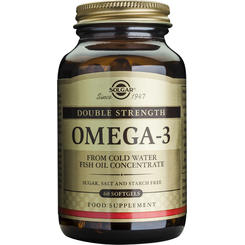 Solgar Omega-3 dublu concentrate- 60cps