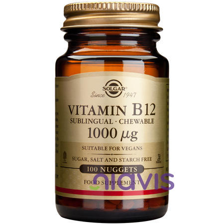 Solgar Vitamin B-12 1000g 100tablete