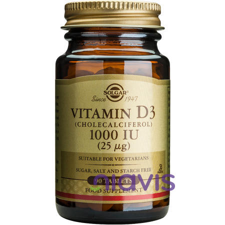 Solgar Vitamin D3 1000ui 90tablete