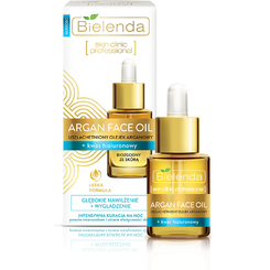 ARGAN FACE OILS Ulei de fata cu Argan si Acid Hialuronic 15 ml
