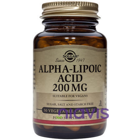 Solgar Alpha Lipoic Acid 200mg 50 caps