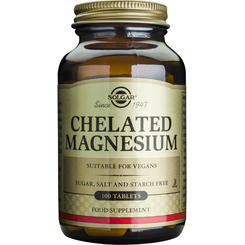 Chelated Magnesium 100mg 100 tablete