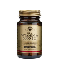 Vitamin A 5000IU 100 tablete