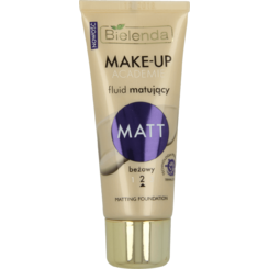 MAKE UP ACADEMIE Fond de Ten Matifiant Beige 30g