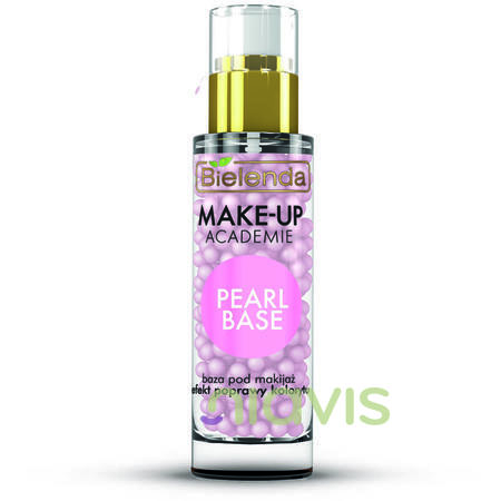 Bielenda MAKE-UP ACADEMIE PEARL BASE - Baza de machiaj roz 30g