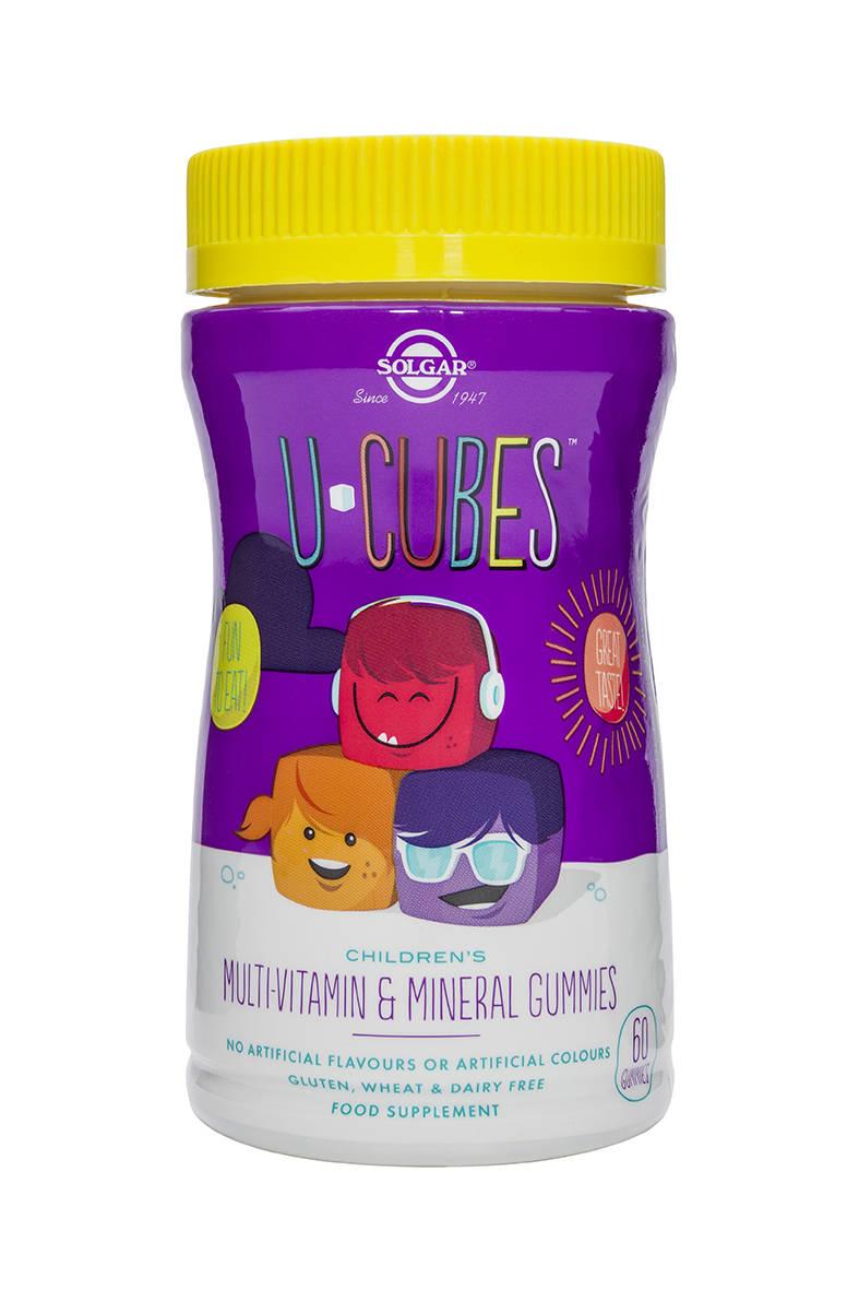U-CUBES gummies 60s