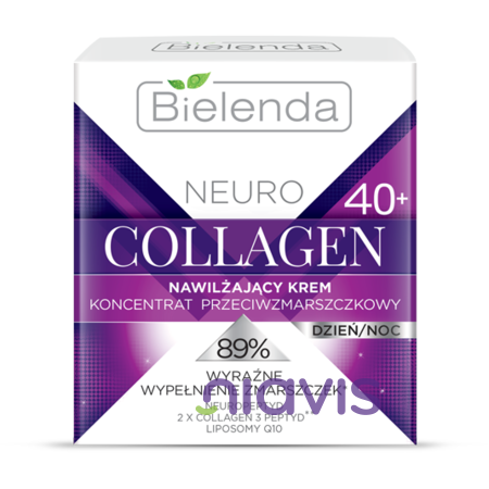 Bielenda NEURO COLLAGEN Crema concentrata de fata hidratanta anti-rid  40+ zi/noapte 50ml