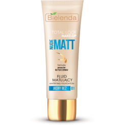 TOTAL LOOK MAKE-UP Fond de ten matifiant, bej deschis (light beige) 01 – 30g