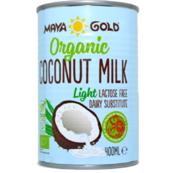 Maya Gold Lapte de Cocos Light grasime 6% Ecologic 400ml