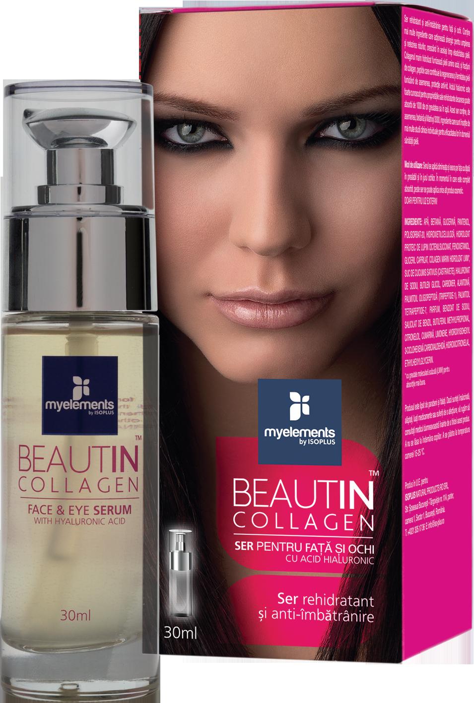Beautin Collagen Ser pentru Ten si Ochi 30ml