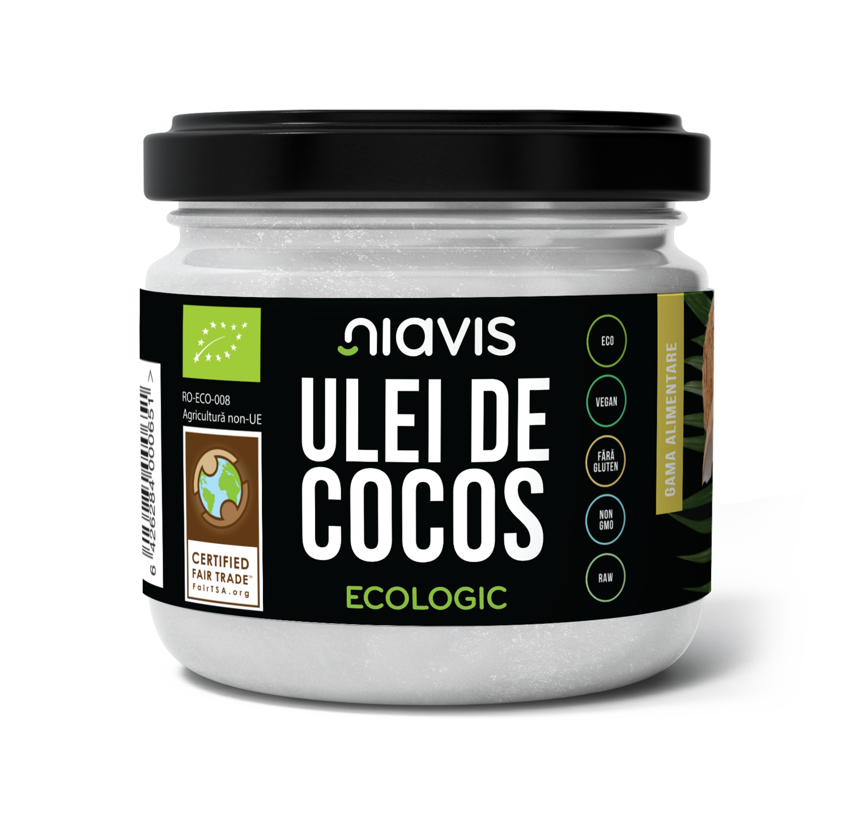Ulei de Cocos Extra Virgin Ecologic/BIO 200g/220ml
