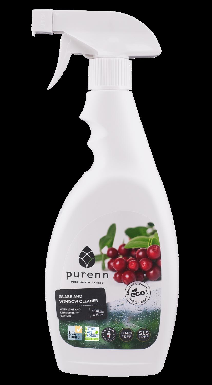 Detergent pentru Geamuri cu Merisoare si Lime ECO/BIO 500ml