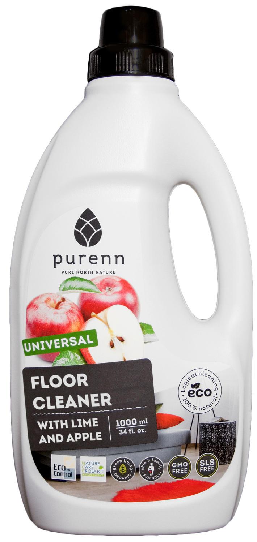 Detergent Universal pentru Pardoseli cu Mere si Lime ECO/BIO 1L