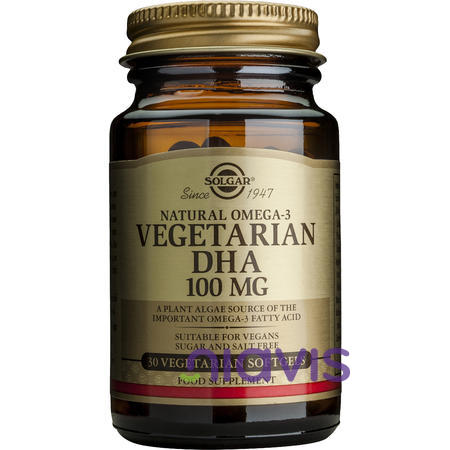 Solgar Vegetarian DHA 100mg softgels 30s
