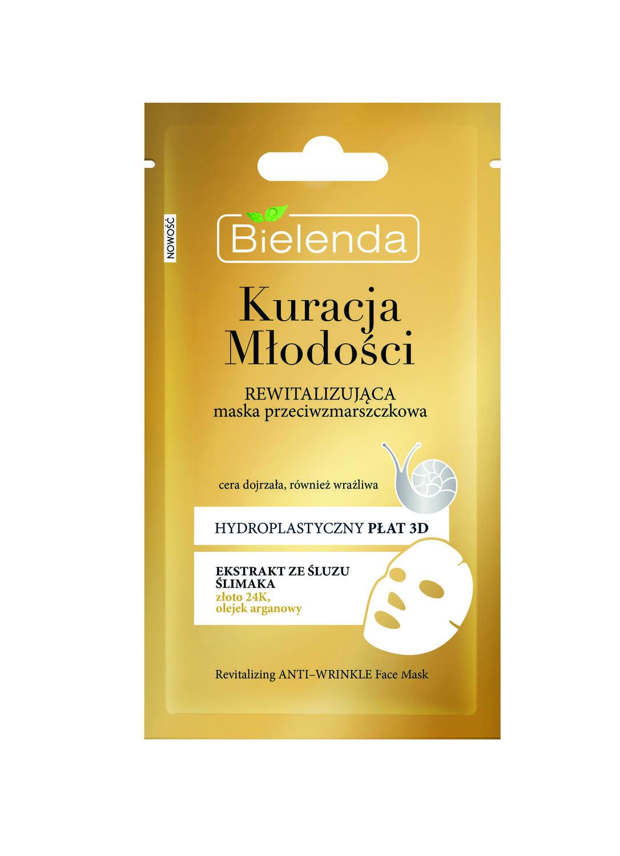 YOUTH THERAPY Masca Antirid Revitalizanta cu Extract de Melc 23g/1buc