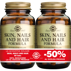 Skin Nails and Hair Formula 60 tablete PACHET 1+1-50%