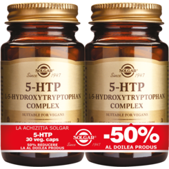 5-HTP (Hydroxytryptophan) 100mg  30 caps PACHET 1+1-50%