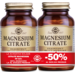 Solgar Citrate Magnesium 200mg 60cps PACHET 1+1-50%
