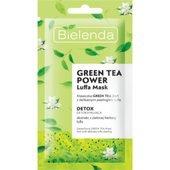 GREEN TEA POWER Masca de Fata Detoxifianta cu Ceai Verde 2in1  8g